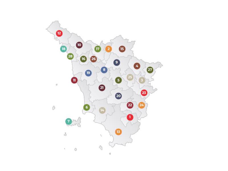 mappa ambito turistico
