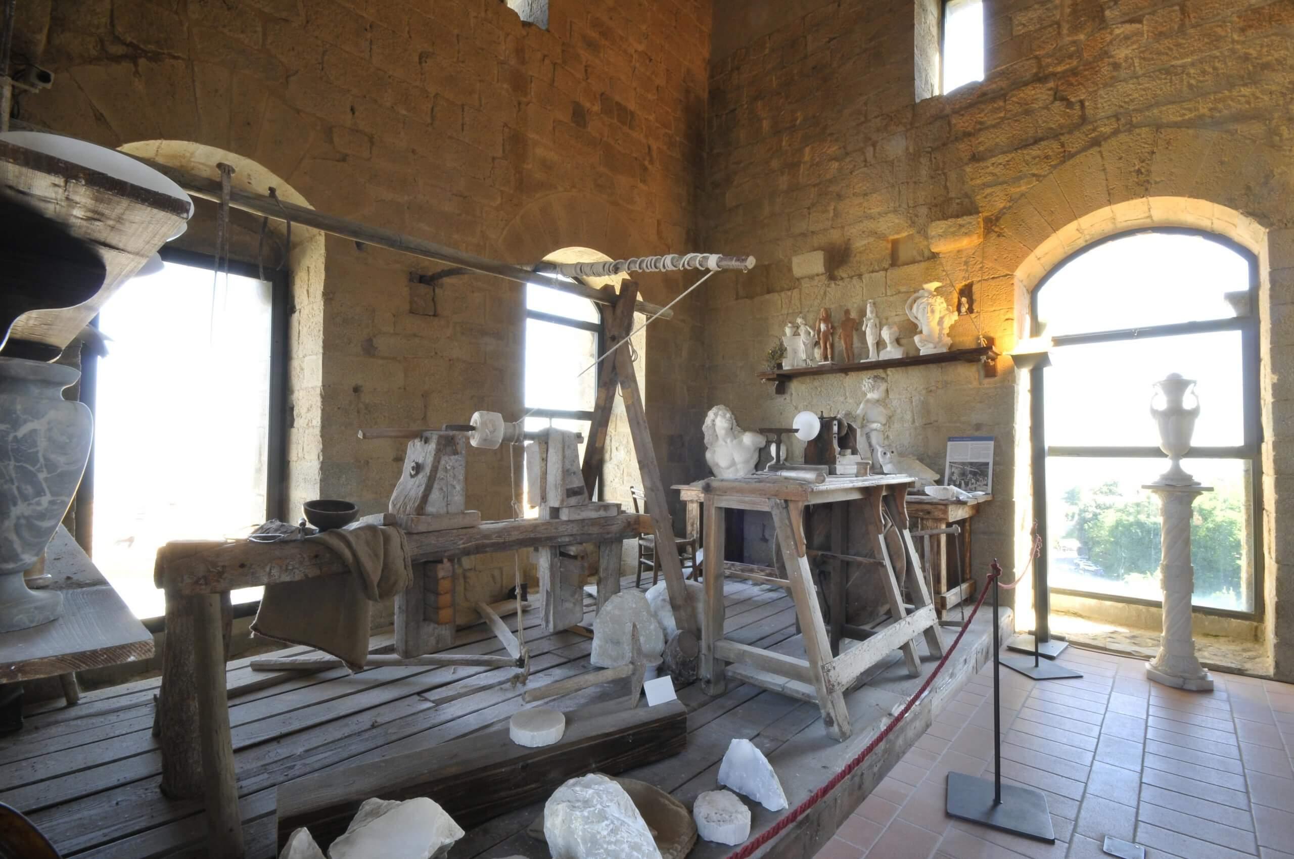 Ecomuseo dell'Alabastro a Volterra
